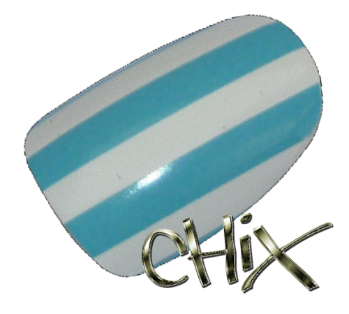 Light Blue White Stripes