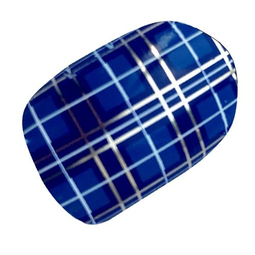 Blue Scottish Tartan