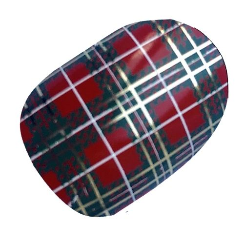 Red Scottish Tartan